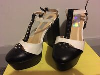 Daisy stud shoes size 3
