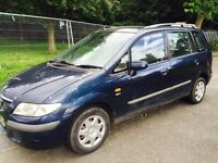 2001 Mazda premacy full years mot cheap for quick sale