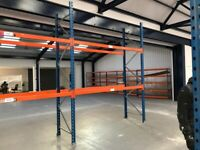 PLANNED STORAGE PSS P85 PALLET RACKING FRAMES BEAMS (Chelmsford Branch)