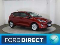 2020 Ford Fiesta TITANIUM 1.0 125PS mHEV 5DR Hatchback Petrol Manual