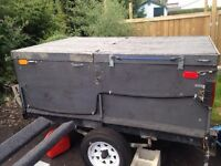 4x6 utility trailer with cover and hitch with 1 7/8 ball