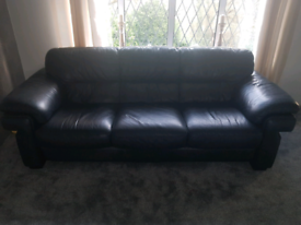 Great Quality Leather 3 & 2 seater sofas