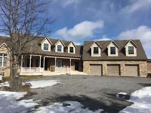 Luxury one bedroom basement with parking on 90 acres