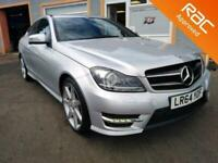2014 Mercedes-Benz C-CLASS 2.1 C220 CDI AMG SPORT EDITION 2d 168 BHP Coupe Diese