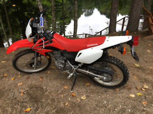 Low km really clean Honda crf230l