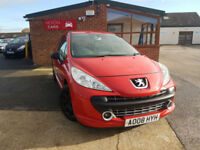 2008 Peugeot 207 1.4 PETROL LOW MILEAGE PX WELCOME