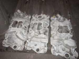 Garage Clean out - Edelbrock Aluminum Intake and Holley Carbs