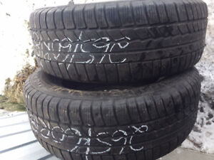 2x Hiver 265/60R18 110h Continental 4x4WinterContact