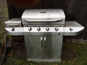 Char-Broil Commercial Series 4 Burners Infrared Gas BBQ