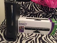 XBox360 console + Brand new Kinect+( 2games)