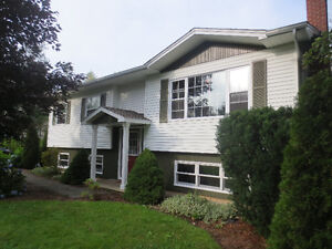 Well-kept Wolfville home, very private lot, cul-de-sac