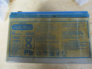 Peg Perego 12V Replacement Battery for Ride-on Toys