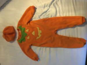 Toddler Pumpkin Halloween Costume 18-24 months