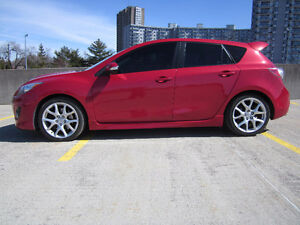 2010 Mazdaspeed3 Tech Pkg. Low kms. New brakes, tires, synth oil
