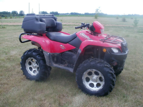 Suzuki Kingquad On Rims