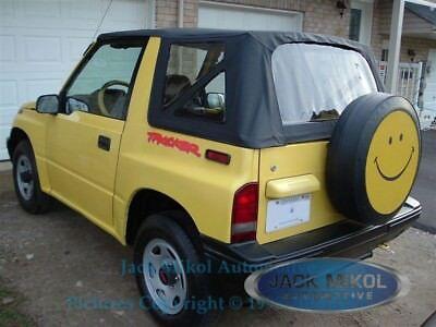 88-94 Suzuki Sidekick Geo Tracker Vitara Replacement Soft Top Black