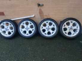 Ford KA Zetec Alloy Wheels