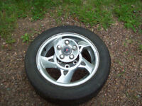 chrome rim and hankook tire for grand am gt
