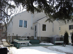 Whyte Ave. - 2 of 2 Bedrooms in  Basement Suite By Month or Week