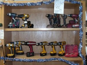 POWER TOOLS CORDED AND CORDLESS