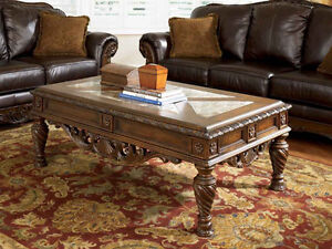 NORTH SHORE COFFEE TABLE & MATCHING END TABLE