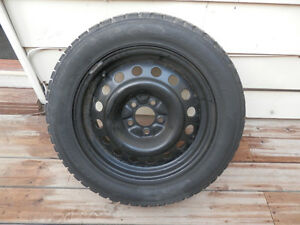 "2 Dunlop Graspic DS 17"" tires"