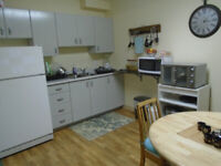 Excellent 1 bedroom Apt. All inclusive, Available March 1st.