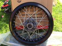 Pulse adrenaline 125 rear wheel