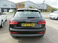 2012 (62) AUDI Q3 2.0 TDi QUATTRO SE Black Diesel Manual Low Mileage Climate FSH