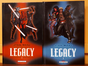 Star Wars Legacy Hardcovers Éditions Delcourt 2007