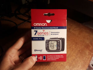 The Omron 7 Series blood pressure monitor