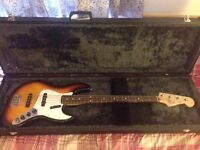 Fender Mexican Jazz Bass with Hard Case