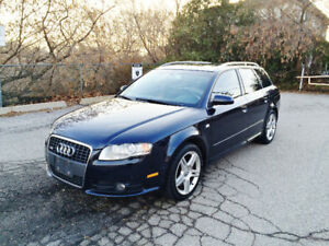 2008 Audi A4 2.0T Quattro Manual Wagon Very Well Maintained Rare