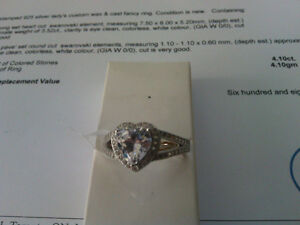 lady's .925 silver ring