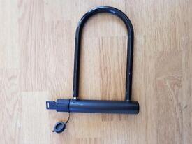 Black D lock