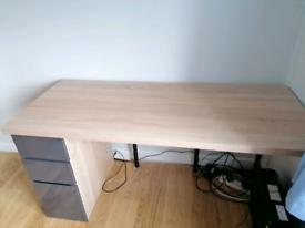 Large Desk - 150cm wide x 60 depth x 78 h