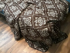 Couch and chair coverings brown