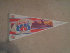 vintage sports pennant collection