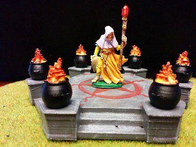 Summoning Altar Terrain Warhammer D&D Frostgrave 28mm 40K Fantasy Wargame 25mm