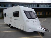 Fleetwood Meridien 480-2 2 Berth End Washroom 2008 Caravan For Sale