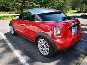 RARE 2012 Mini Cooper Coupe - PRICE REDUCED !!!!