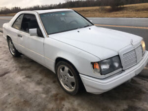 EASY FIX 1990 Mercedes Benz 300CE IN-LINE 6 AUTO 2995$