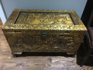 Chinese Campor Wood Chest with Cedar Lining - $1000