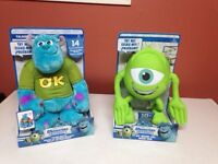 Monster universitys talkin sulley and mike-NEW!