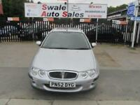 2002 52 ROVER 25 1.4 SPIRIT E 5 DOOR 84 BHP