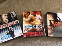 Prison Break seasons 1-3