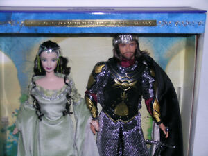 Lord of the Rings Arwen And Aragon Barbie Giftset Kitchener / Waterloo Kitchener Area image 2