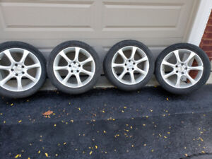 2010 Mazda 3 Hatchback 17 inch wheels for sale with  good tires