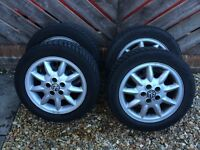 Vw golf mk3 gti alloy wheels with winter tyres