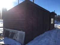 16'x8' shed